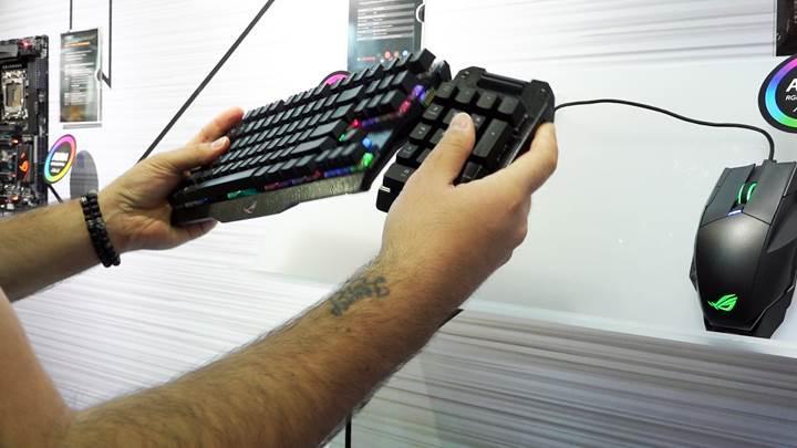 Asus ROG'dan dikkat çekici oyuncu klavyesi; Claymore