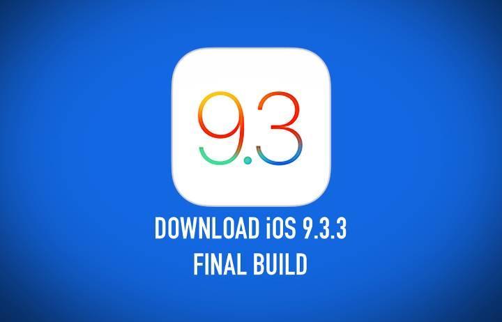iOS 9.3.3 güncellemesi indirmeye sunuldu