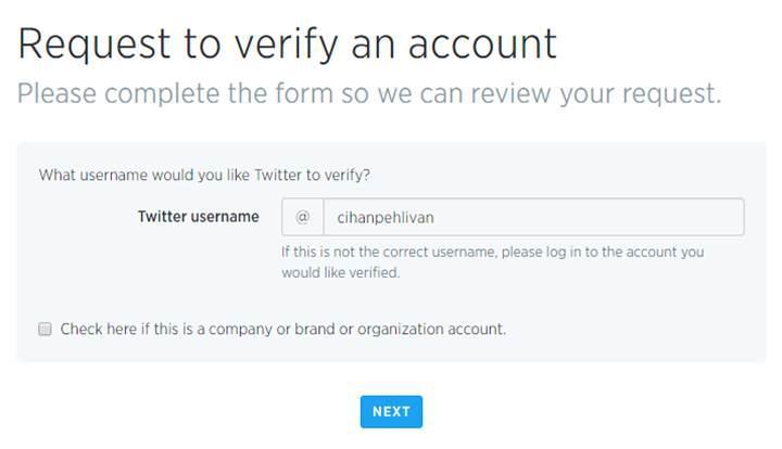 Twitter'da artık herkes mavi onay rozeti alabilecek