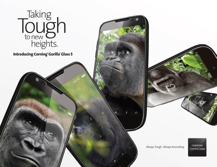 Gorilla Glass 5 geliyor