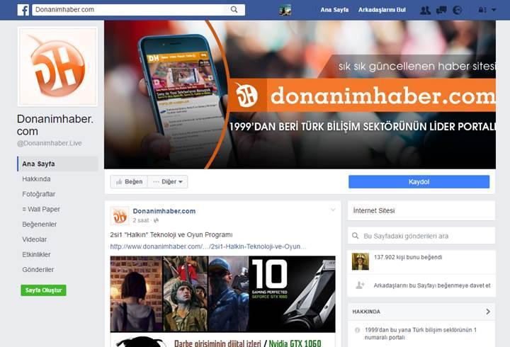 Facebook sayfalarının yeni tasarımı böyle olacak