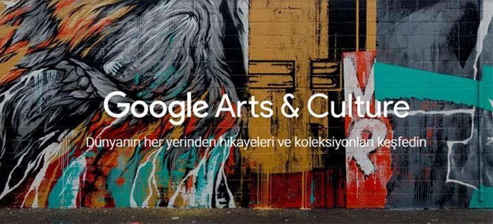 Google Arts&Culture ile tarih dolu günlere hazır olun