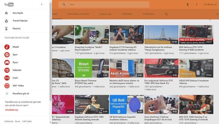 YouTube yeni tasarıma geçiş yapmaya başladı