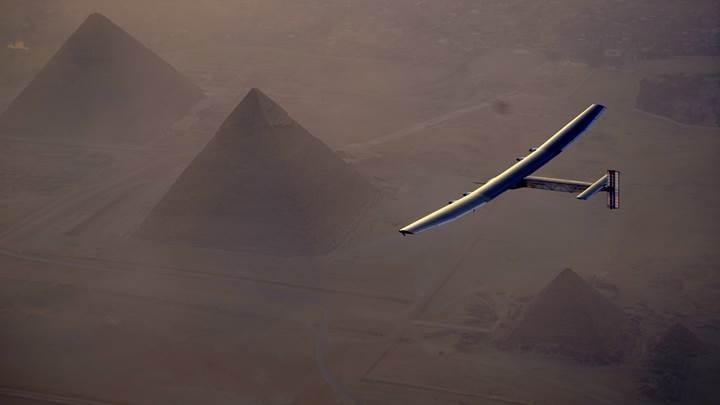 Solar Impulse 2'nin tarihi dünya turunda son etaba girildi
