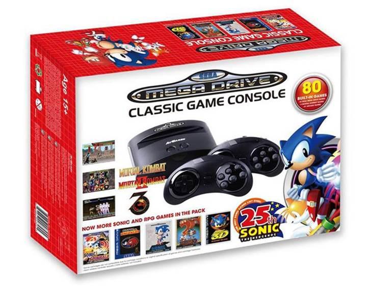 Sega Mega Drive Classic konsolu da raftan iniyor
