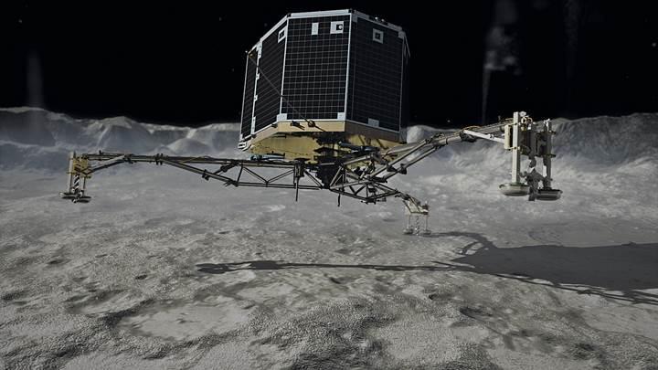 Kuyruklu yıldıza iniş yapan ilk uzay aracı Philae'ye elveda zamanı