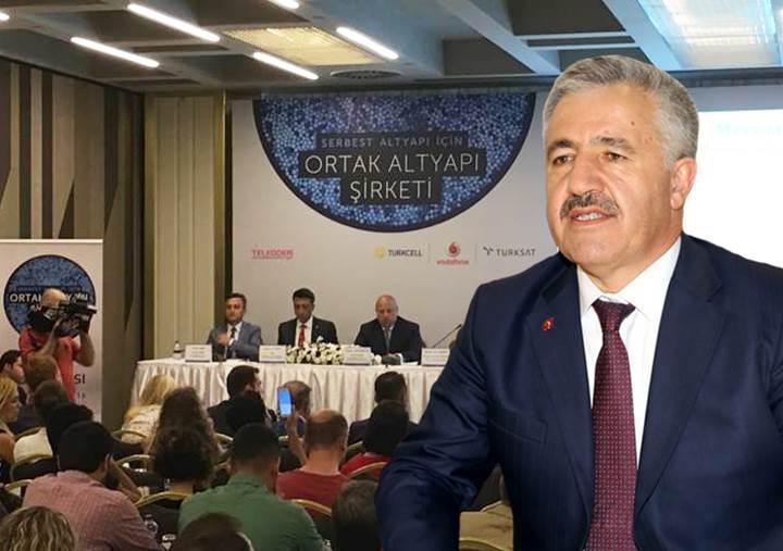 Ulaştırma Bakanı Ahmet Arslan: Ortak altyapı kullanımını destekliyoruz