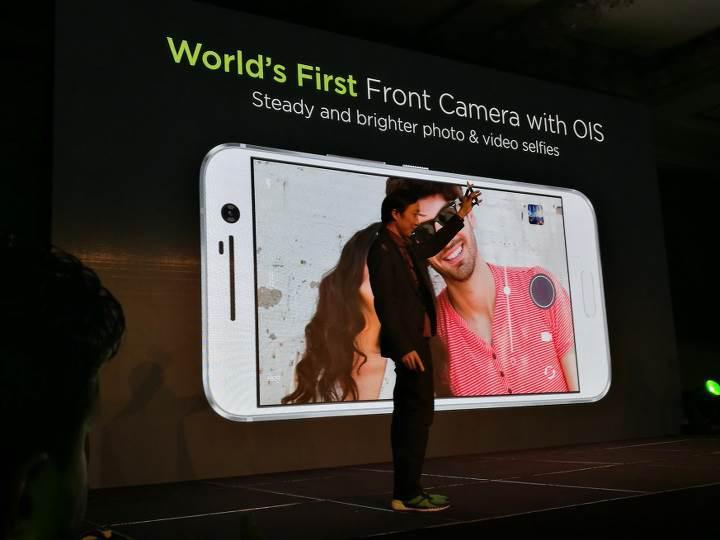 HTC 10 ön kamerasından Samsung çıktı