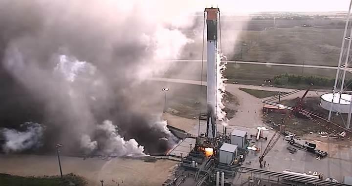 SpaceX Mayıs ayında indirdiği roketi işte böyle test etti (VİDEO)