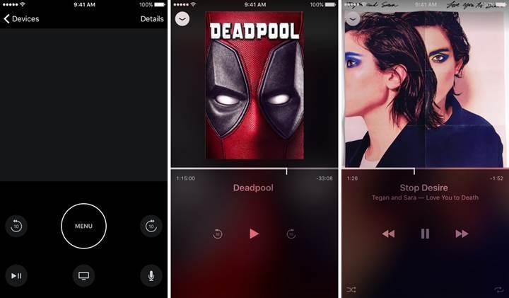 iOS için Apple TV Remote uygulaması yayınlandı