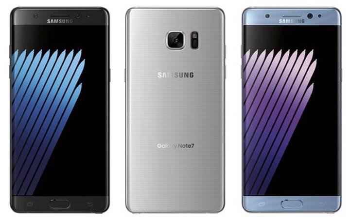 Samsung Galaxy Note 7 ile tanışın: İşte detaylar