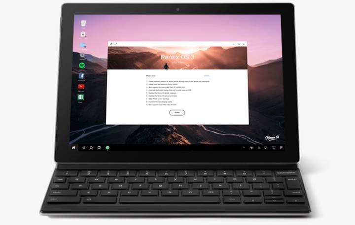 Güncellenmiş Remix OS, Pixel C ve Nexus 9 için indirmeye sunuldu