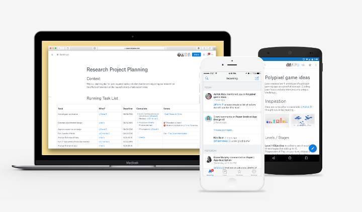 Yenilikçi özellikleriyle Dropbox Paper, herkesin kullanımına açıldı