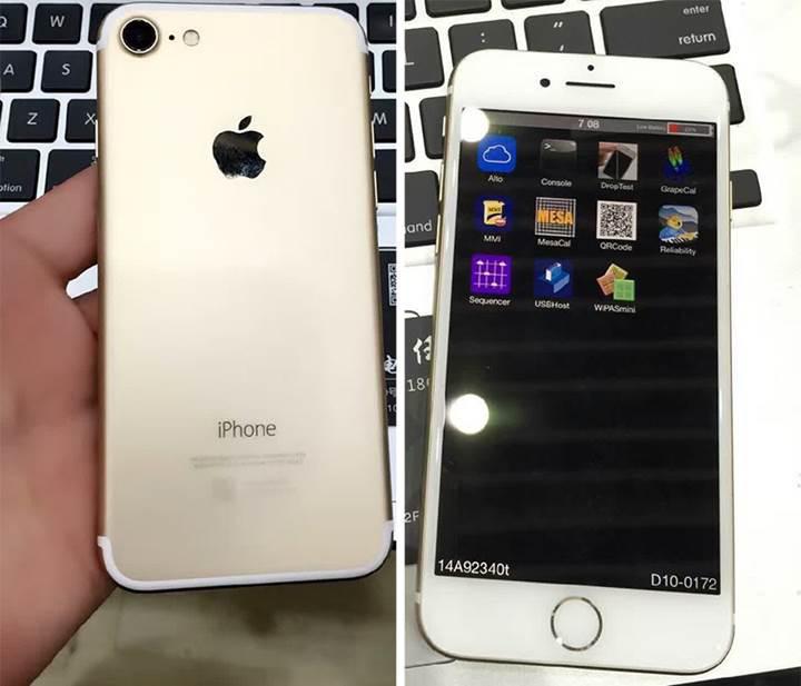 iPhone 7′nin çalışır haldeki ilk videosu sızdırıldı