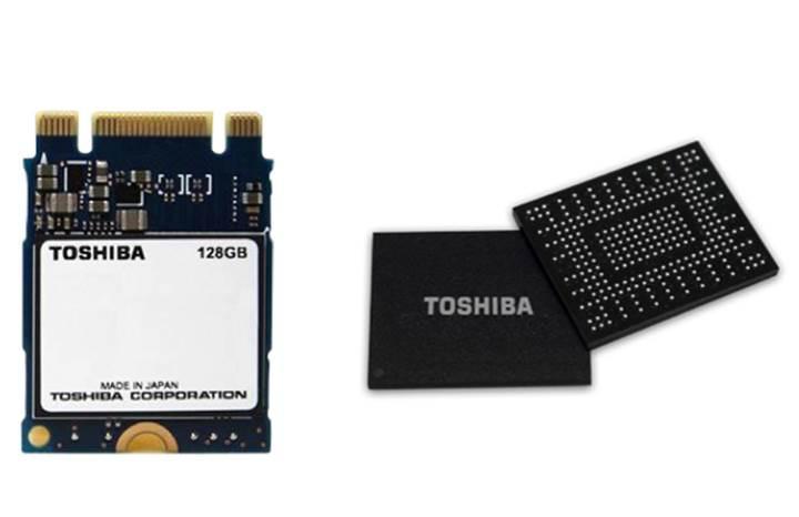 Toshiba'dan 3D TLC tabanlı entegre SSD ürünleri