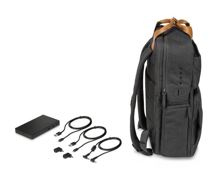 HP Powerup Backpack ile şarjınızı sırtınızda taşıyın