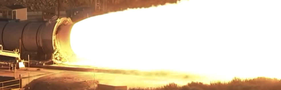 Dünyanın en güçlü roket motorunun testine bir de böyle bakın
