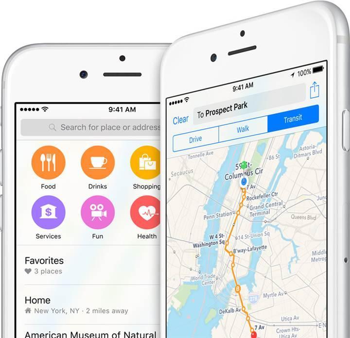 Haritalar servisinin Apple'a büyük etkisi