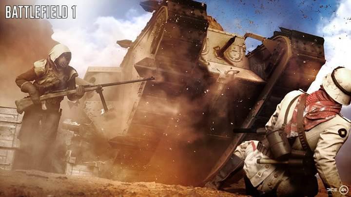 Battlefield 1'in savaşa yön verecek araçları tanıtıldı
