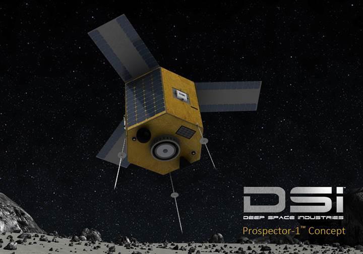Uzay madenciliği sadece 4 yıl içerisinde başlıyor