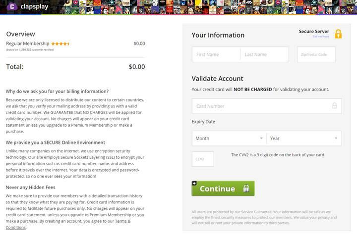 Dikkat: Kickass'in popüler kopya sitesinde kredi kartı tuzağı