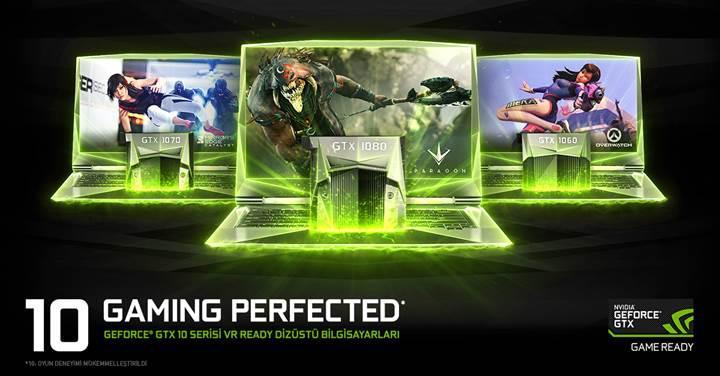Dizüstü Bilgisayarlar için GeForce GTX 10-Serisi ile yeni bir devir başlıyor