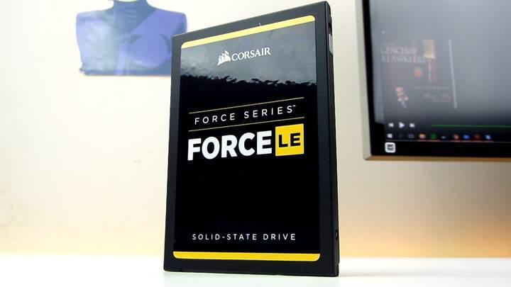 Corsair Force LE 480GB SSD test masamızda!