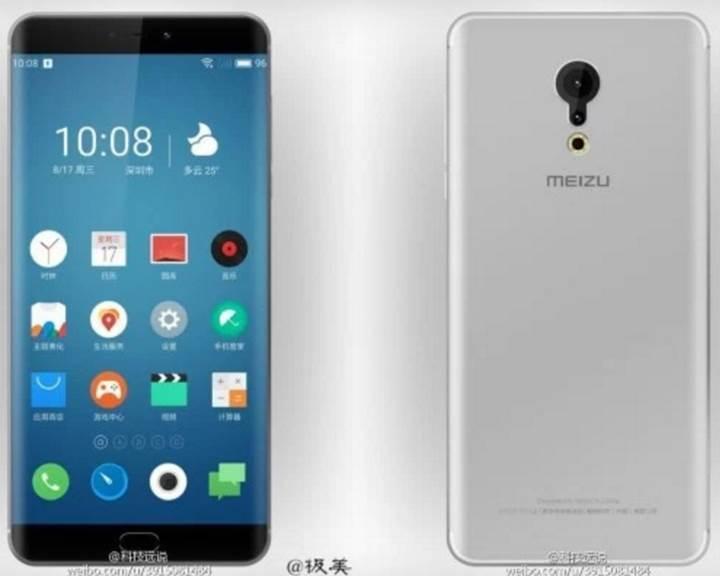 Kavisli ekranlı yeni Meizu telefonu internete sızdırıldı