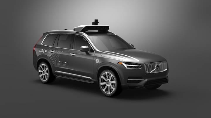 Volvo ile anlaşan Uber'in sürücüsüz araçları yollara çıkıyor