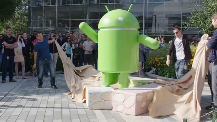 Android 7.0 Nougat, resmi olarak dağıtıma başladı