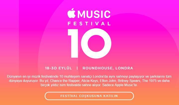 10. yılını kutlayan Apple Music Festival ile büyüleyici performanslara hazır olun
