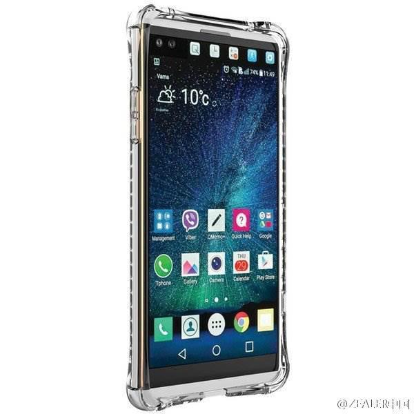 LG V20 hakkında yeni gelişmeler ve görseller var