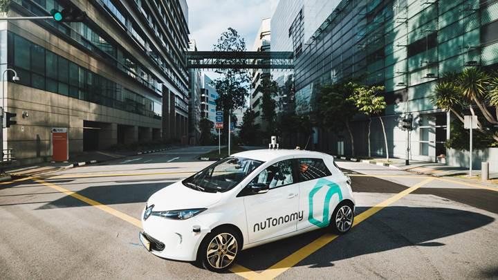 Singapur sokakları ilk sürücüsüz taksilere ev sahipliği yapıyor