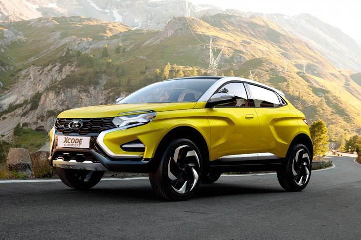 İşte LADA'nın yeni otomobil konsepti