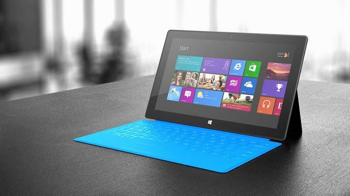 Windows'un tablet pazarındaki payı %10'u geçiyor