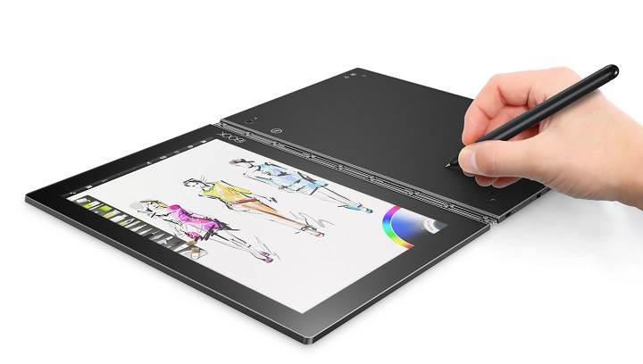 Lenovo Yoga Book: Tablet konseptine ilginç bir bakış açısı