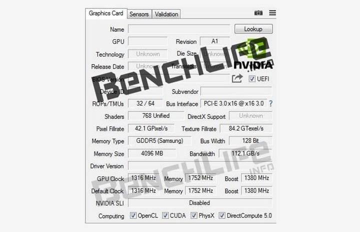 Nvidia GeForce GTX 1050 ufukta göründü