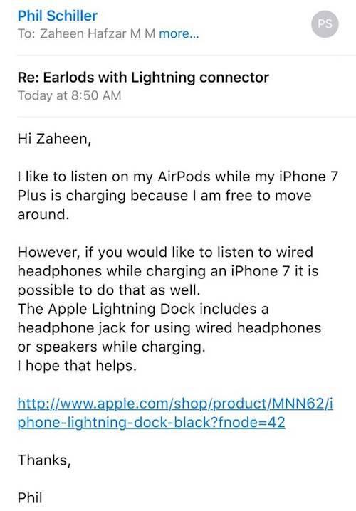 iPhone 7′yi şarj ederken kulaklıkla nasıl müzik dinleyebilirsiniz?