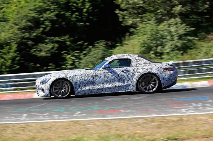Mercedes-AMG GT C Roadster'ın teaser videosu yayınlandı