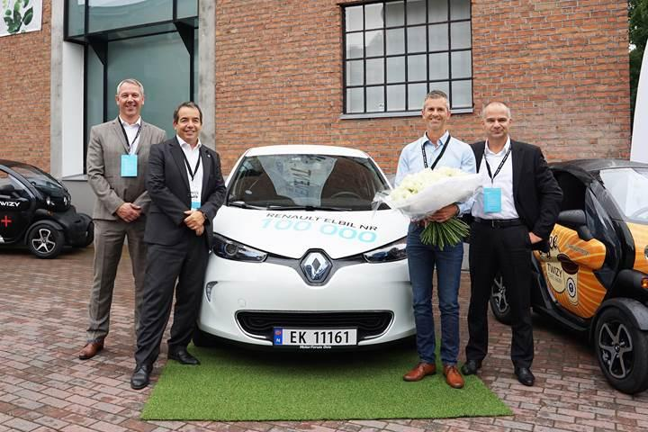 Renault elektrikli otomobil alanında 100 bin adet satış barajını geçti