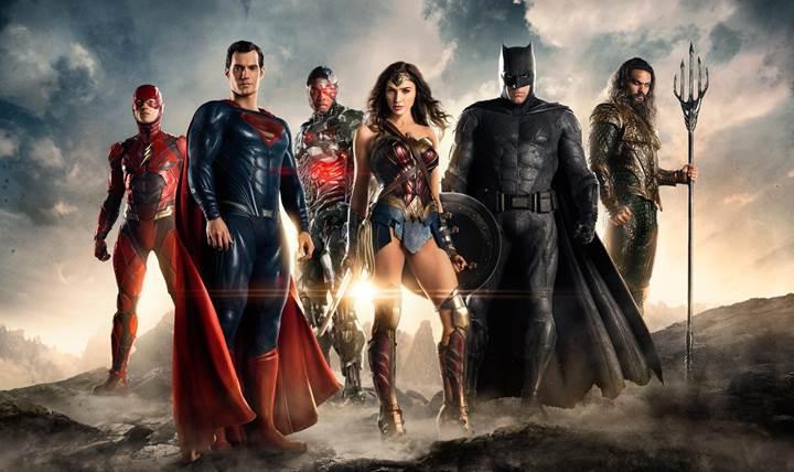 Batman, Justice League filmindeki yeni kostümü ile ilk kez görüldü