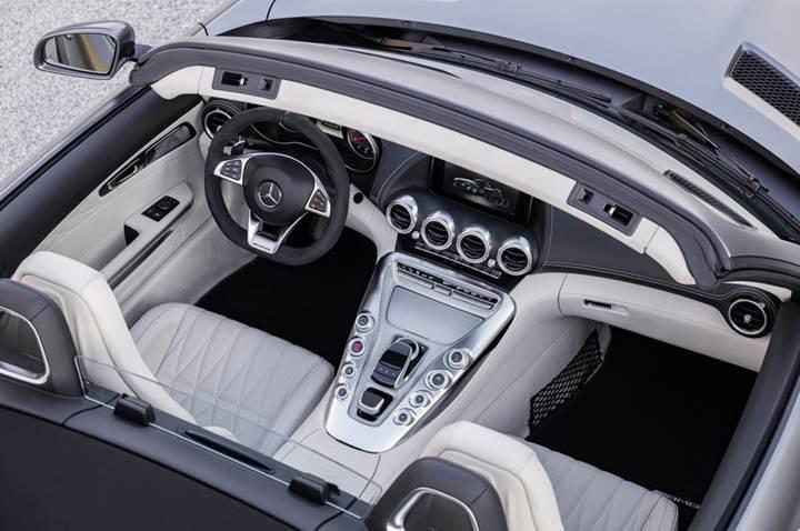 Mercedes-AMG GT Roadster ve GT C Roadster artık resmi