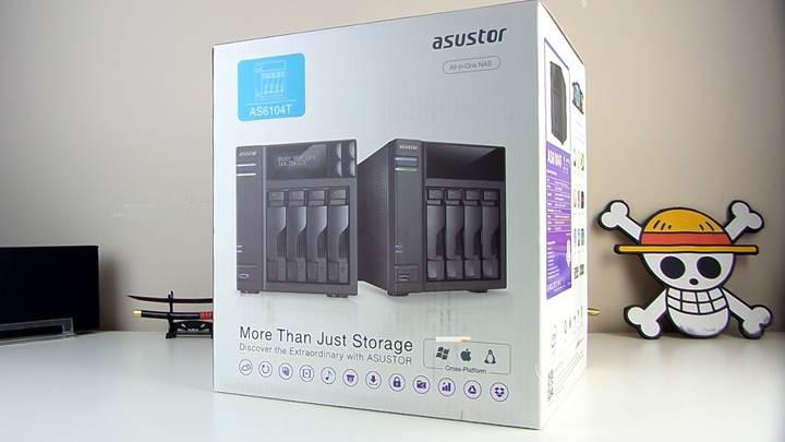 Asustor AS6104T NAS inceleme
