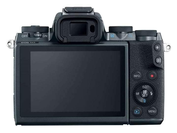 Canon EOS M5 duyuruldu