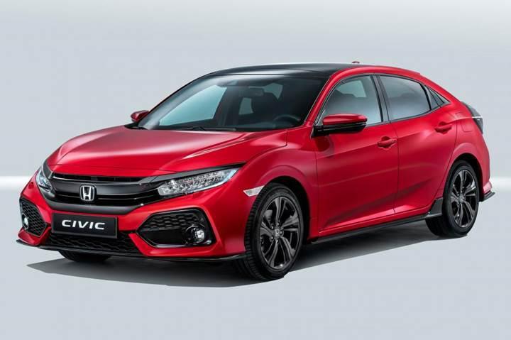 2017 Honda Civic Hatchback Artik Resmi