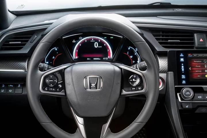 2017 Honda Civic hatchback artık resmi