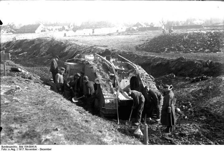Dünya tarihinin ilk tankı 100 yıl önce bugünlerde kullanılmıştı
