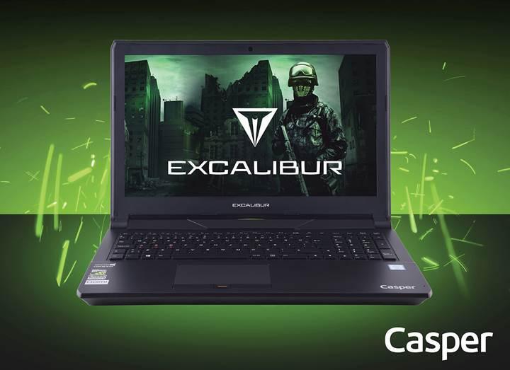 Casper, Excalibur ailesini G500 ile genişletiyor