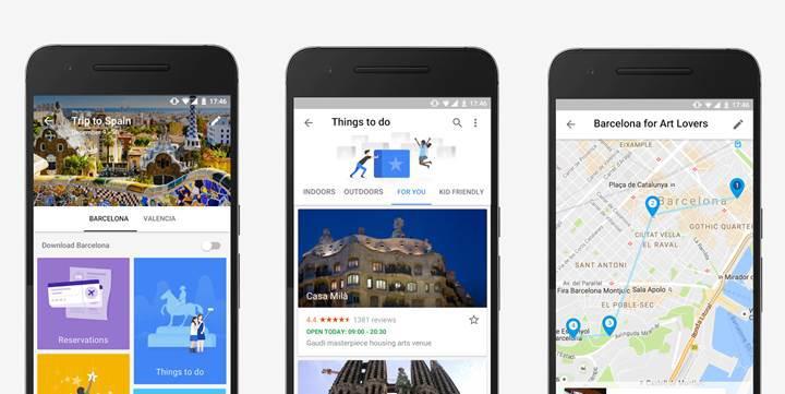 Google'dan kişiye özel seyahat asistanı: Google Trips