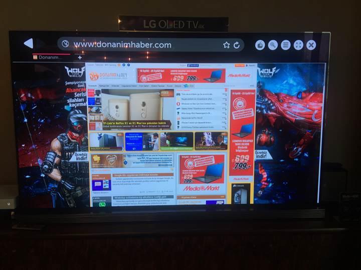 HDR teknolojisine sahip yeni LG OLED TV serisi Türkiye'de